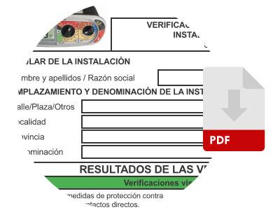 checklist de verificaciones eléctricas instalaciones REBT