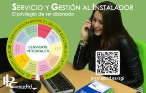 servicio y gestión al instalador