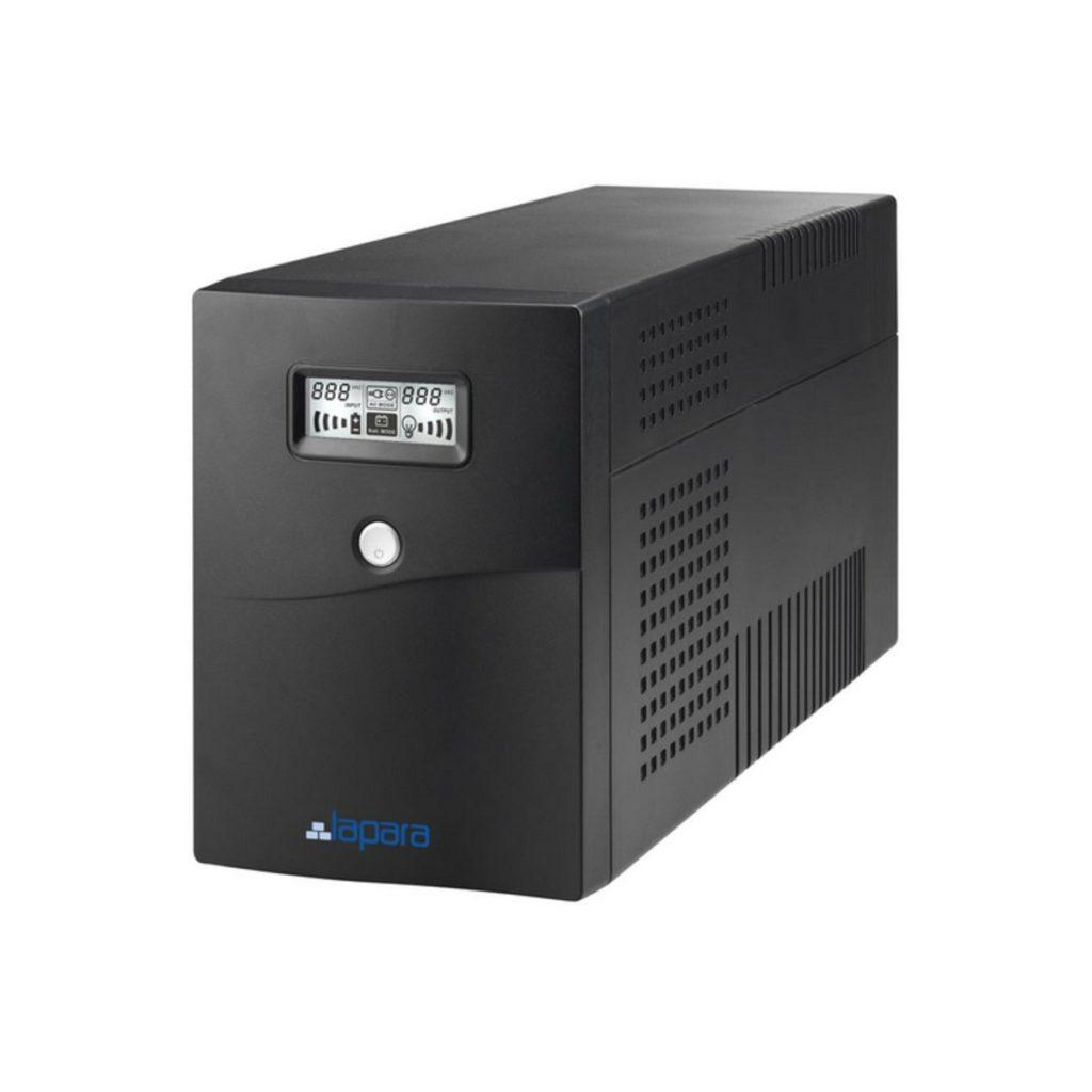 SAI Lapara 1500VA 900W in LINE 2x Schuko 2x IEC USB RJ11 LCD LA VST 1500LCD