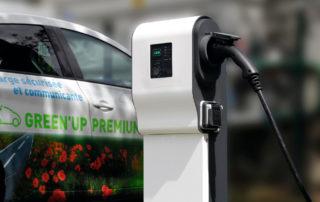 GreenUp Legrand estacion de recarga