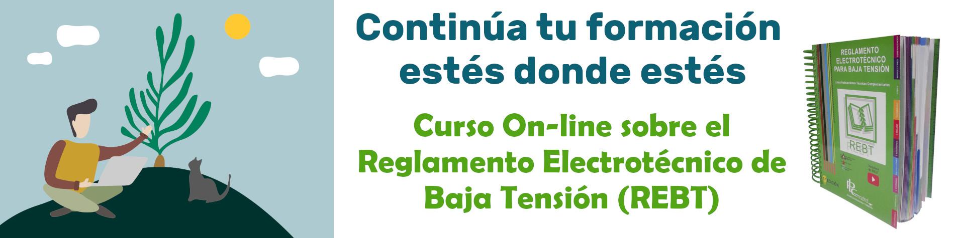 PLC Madrid Curso on-line sobre el reglamento electrotécnico para baja tensión