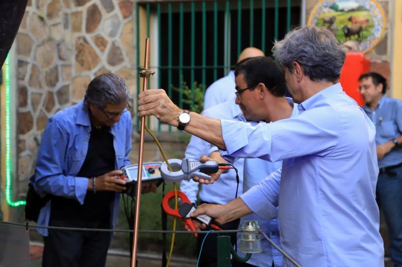 Curso Práctico de Instalaciones de Puesta a Tierra y Soldadura Aluminotérmica medida de tierras mediante pinzas