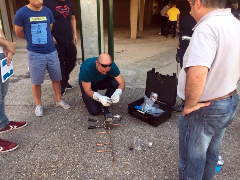 Curso Práctico de Instalaciones de Puesta a Tierra y Soldadura Aluminotérmica preparacion soldadura