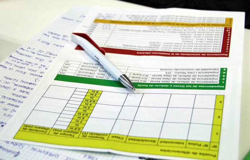 Curso Práctico de Medidas Eléctricas Reglamentarias formulario