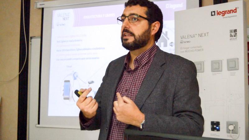 Curso domótica para profesores de FP de la Comunidad de Madrid con la colaboración de Legrand