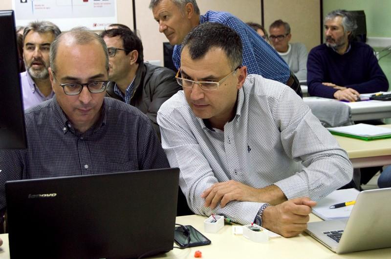 Curso domótica para profesores de FP de la Comunidad de Madrid programación