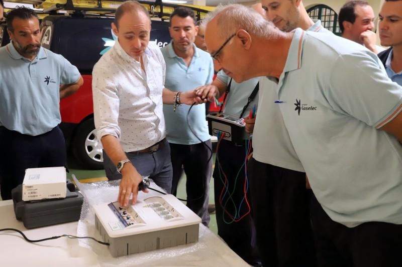 Curso medidas reglamentarias Grupo Gaselec medida de disparo de diferenciales