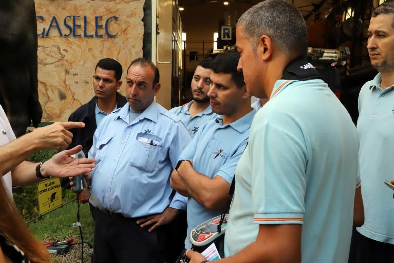Curso medidas reglamentarias Grupo Gaselec medida de resistencia de puesta a tierra
