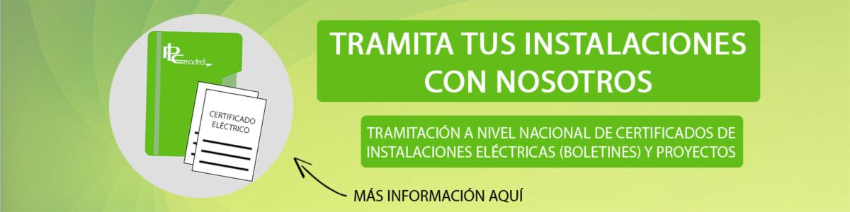 PLC MAdrid Tramita tus instalaciones eléctricas con nosotros