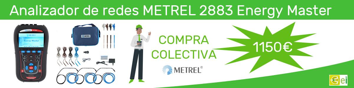 Analizador de redes de metrel Banner 1150€