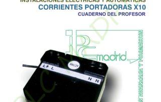 INSTALACIONES DOMOTICAS . CORRIENTES PORTADORAS X 10. CUADERNO DEL PROFESOR page 001