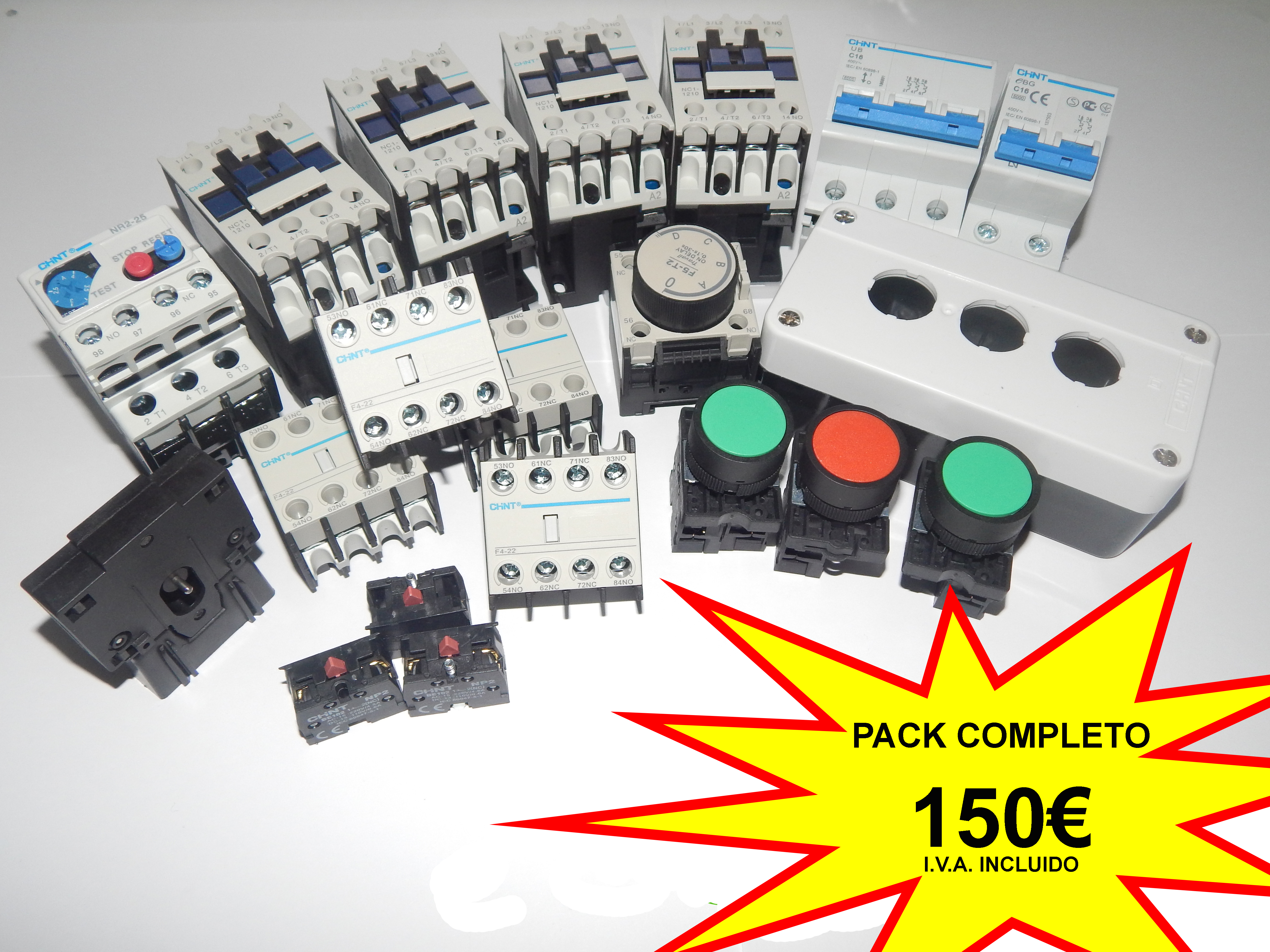 PACK AUTOMATISMOS COMPLETO