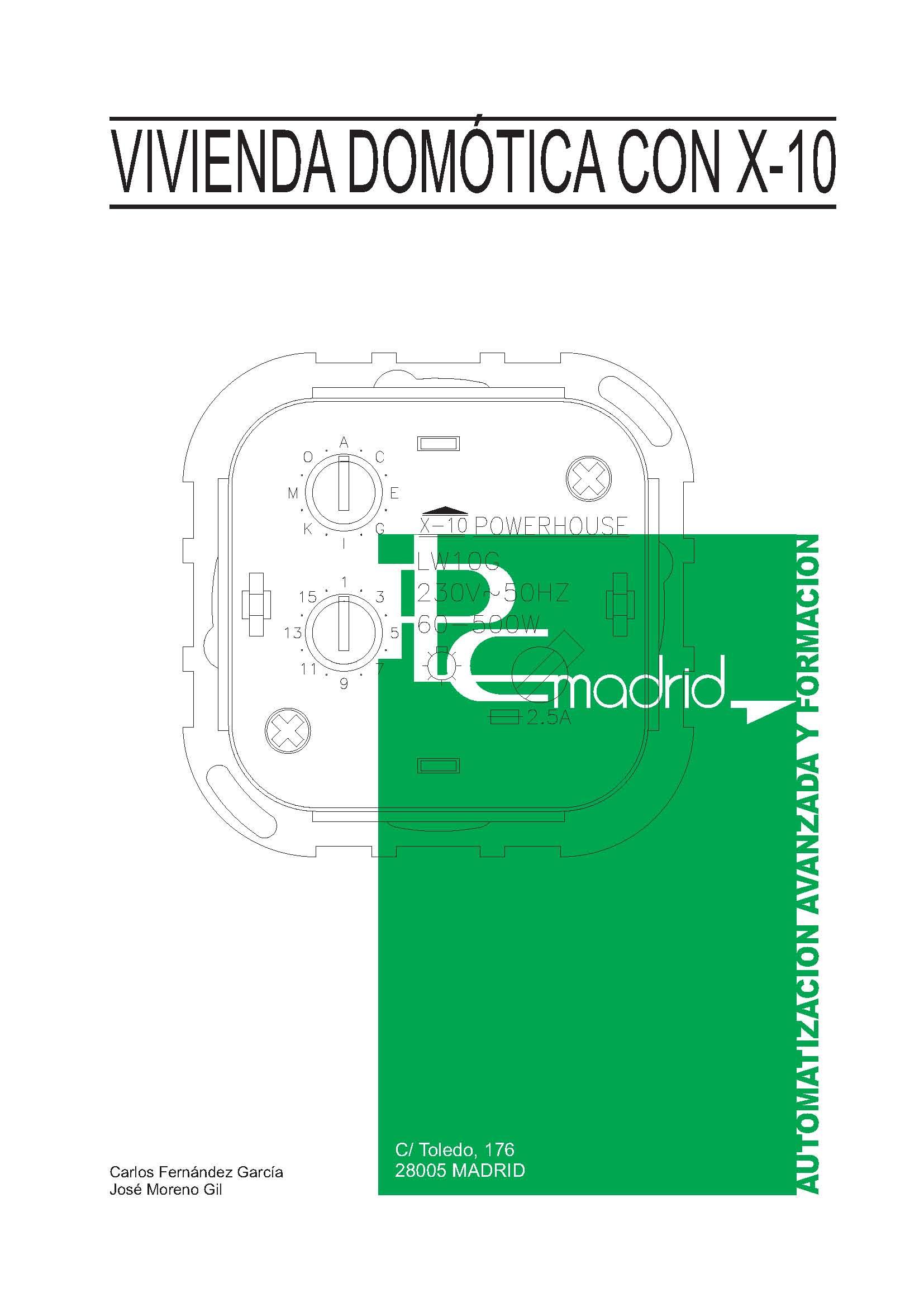 Proyecto de Vivienda domótica con de Corrientes Portadoras X-10